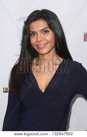 LOS ANGELES - MAY 25:  Sheila Shah at the Stop Poaching Now 2016 Gala at the Ago Restaurant, on May 25, 2016 in West Hollywood, CA