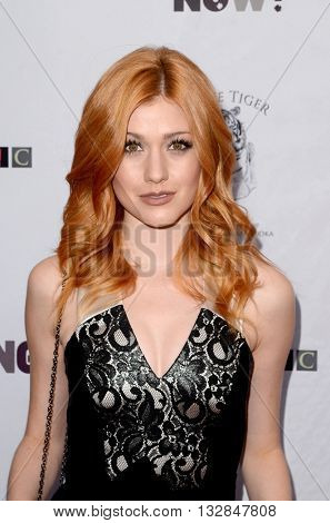 LOS ANGELES - MAY 25:  Katherine McNamara at the Stop Poaching Now 2016 Gala at the Ago Restaurant, on May 25, 2016 in West Hollywood, CA