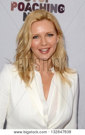 LOS ANGELES - MAY 25:  Veronica Ferres at the Stop Poaching Now 2016 Gala at the Ago Restaurant, on May 25, 2016 in West Hollywood, CA