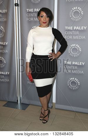 LOS ANGELES - MAY 26:  Selenis Leyva at the PaleyLive Presents Orange is the New Black at the Paley Center for Media on May 26, 2016 in Beverly Hills, CA