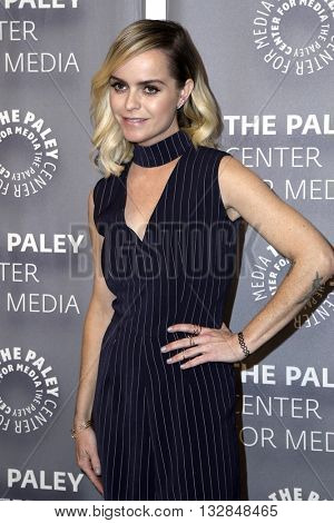 LOS ANGELES - MAY 26:  Taryn Manning at the PaleyLive Presents Orange is the New Black at the Paley Center for Media on May 26, 2016 in Beverly Hills, CA