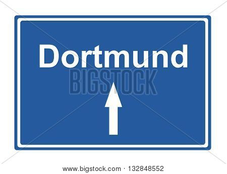 Dortmund street sign Highway road trip Holiday
