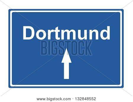 Dortmund street sign Highway road trip Holiday