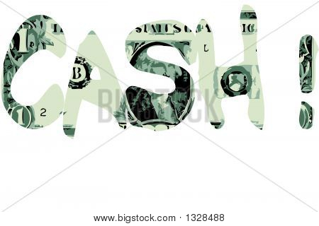 Cash ! - Vector Illustration