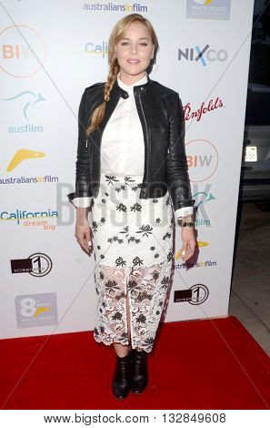 LOS ANGELES - JUN 1:  Abbie Cornish at the 2016 Australians In Film Heath Ledger Scholarship Dinner at the Mr. C on June 1, 2016 in Beverly Hills, CA