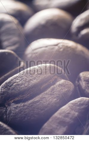 a lot of coffee beans as a background