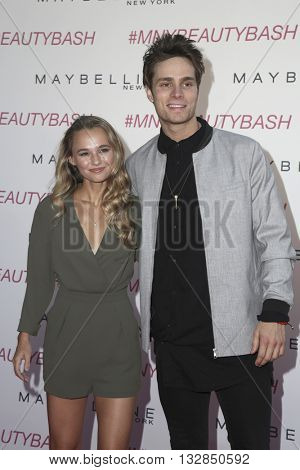 LOS ANGELES - JUN 3:  Madison Iseman, Spencer Sutherland at the Maybelline New York Beauty Bash at the The Line Hotel on June 3, 2016 in Los Angeles, CA