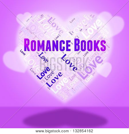 Romance Books Means In Love And Affection