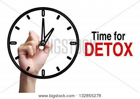 Time For Detox Concept