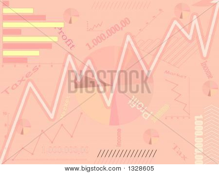 Business Abstract Background - Vector Illustration