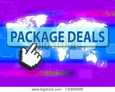 Package Deals Means Fully Inclusive And Bargain