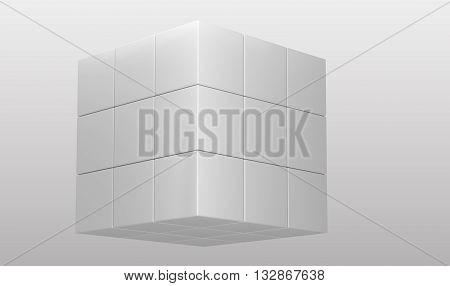 White Cubic Puzzle