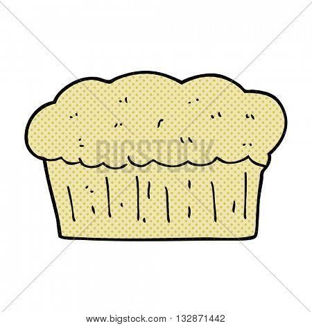 freehand drawn cartoon loaf of bread