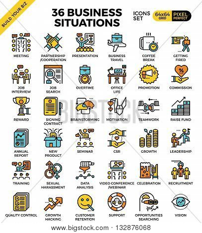 Business Situations Icons