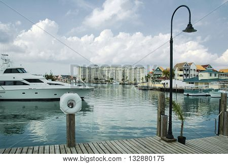 Marina and Water Front at Free Port, Grand Bahama