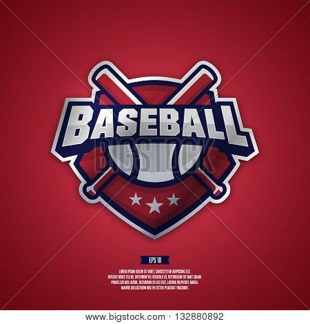 Modern professional logo for a baseball team.