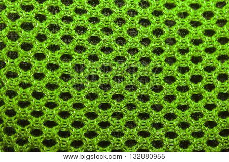 texture of knitted fabric openwork knit knitted fabrics of cotton yarn as background.
