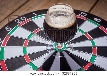 Dark Ale And Darts