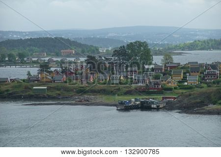 oslo the capital of norway in scandinavia