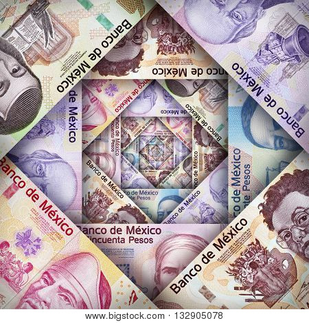Mexican Peso Paper Bills