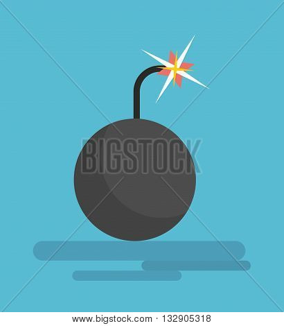 Black Dangerous Bomb