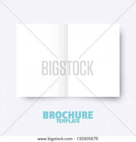 Brochure business template for publishing, presentation. Design graphic element