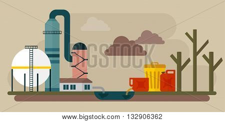 Ecological Disaster Pollution Chemical Environment
