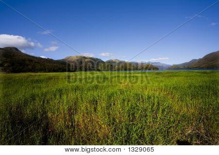 Ilha Margarita, Venezuela, montanhas, colinas, Prado, céu, verde, nuvens