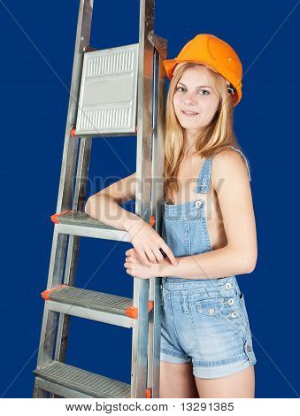 Sexy  Female  Builder