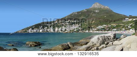 View Of Table Mountain From Clifton Beach, Cape Town South Africa 38