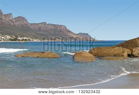 View from Camps Bay Beach, Cape Town South Africa 75