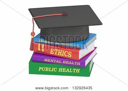 Public Health concept 3D rendering isolated on white background