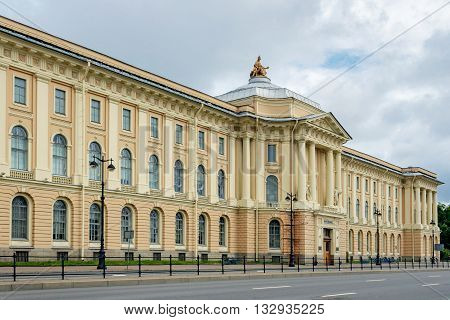 Building of the Russian Academy of Arts in Saint Petersburg