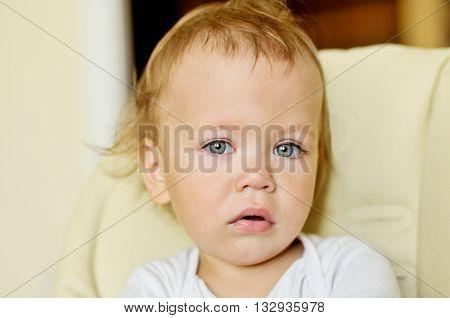 Sad Baby Girl