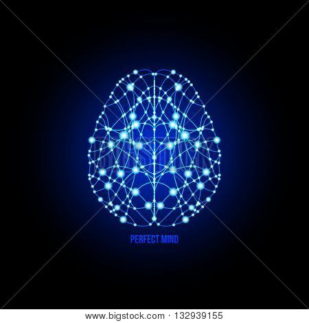 Human brain perfection and thinking concept. Human brain. Analytical brain. Creative brain. Human thinking. Analytical thinking Creative thinking.