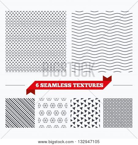 Diagonal lines, waves and geometry design. Dashed lines texture. Ornament geometric seamless pattern. Modern repeating stylish texture. Material patterns.