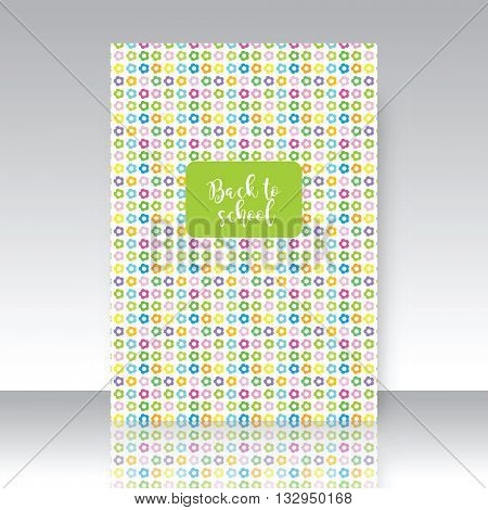 Back to school, notebook cover