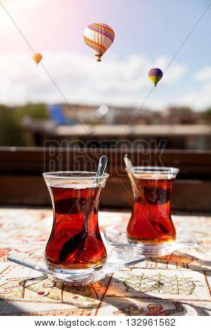 Turkish Tea In Cappadocia