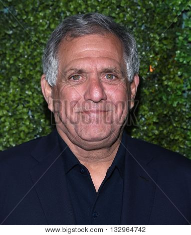 LOS ANGELES - JUN 02:  Les Moonves arrives to the 2016 CBS Summer Soiree  on June 02, 2016 in Hollywood, CA.