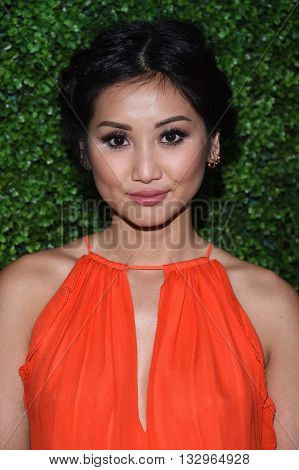 LOS ANGELES - JUN 02:  Brenda Song arrives to the 2016 CBS Summer Soiree  on June 02, 2016 in Hollywood, CA.