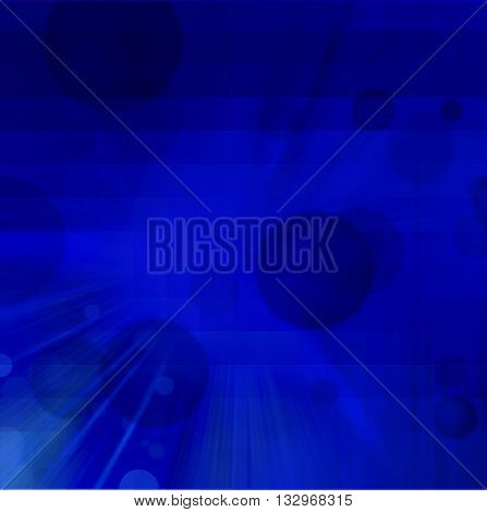 Blue rectangular glowing blocks background with some soft