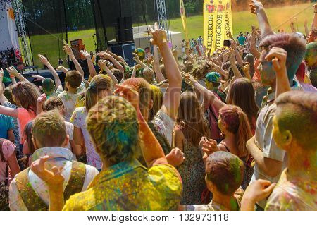 The Annual Festival Of Colors Colorfest