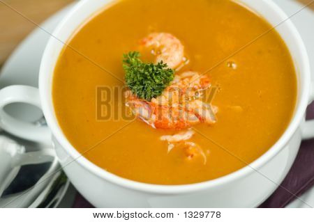 Fish Soup Close-Up