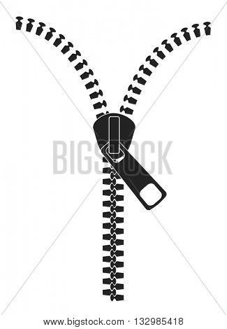 zipper icon design