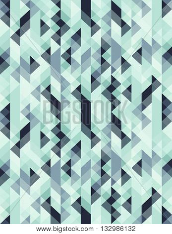 vector seamles pattern geometric pattern triangle pattern for textile industry