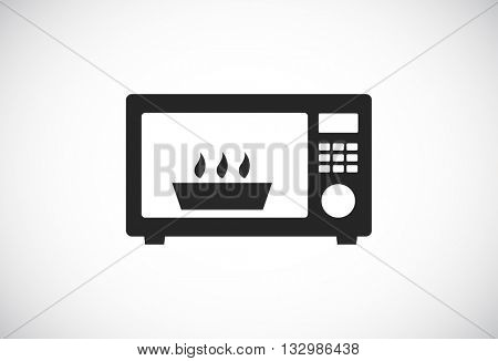microwave oven web icon