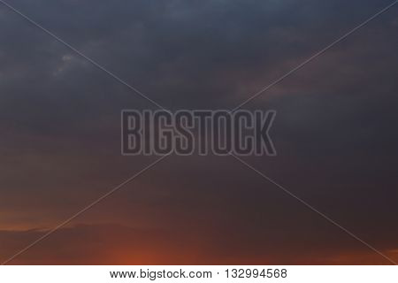Red Sky Background