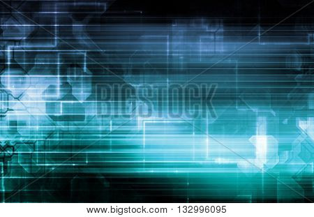 Electronic Engineering and Robotic Circuitry Background Art