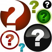 picture of question-mark  - Question vector elements - JPG