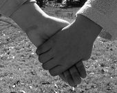 pic of holding hands  - preteen girls holding hands in friendship - JPG